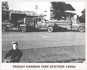 Friday Harbor Fire Station 1950s