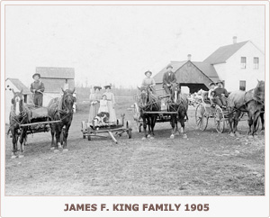 James F. King Family 1905