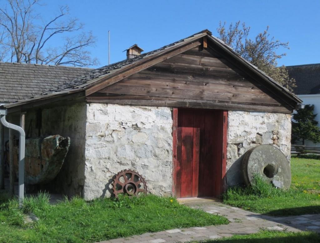 Stone Storage Building